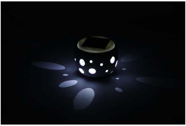 Solar-Keramiktopf GRUNDIG, Farbwechsel, 2 LED - Produktbild 5