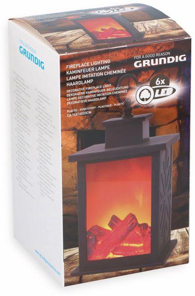 LED Kaminfeuer Lampe GRUNDIG, 140x140x244 mm - Produktbild 2