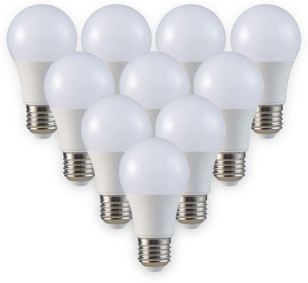 LED-Lampe VT-2099, E27, EEK: A+, 9 W, 806 lm, 4000 K, 10 Stück