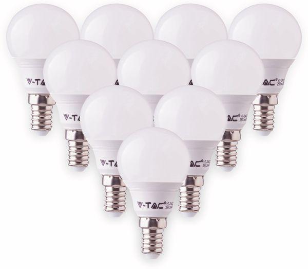 LED-Lampe VT-1880 Frost, E14, EEK: A+, 5,5 W, 470 lm, 2700 K, 10 Stück