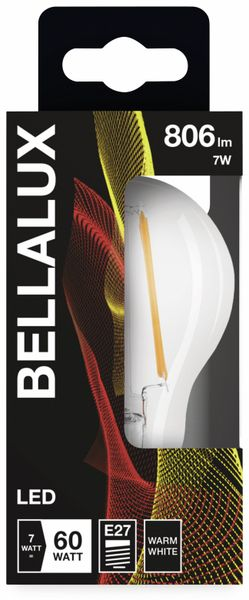LED-Lampe BELLALUX CLASSIC, E27, EEK: A++, 7 W, 806 lm, 2700 K, 10 Stück - Produktbild 2