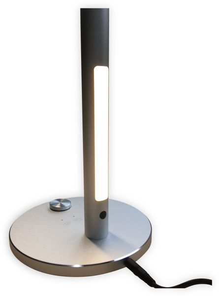 LED-Schreibtischleuchte LUXULA, 8,5W, EEK: A, 500 lm, 230V~, silber - Produktbild 4