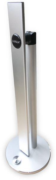LED-Schreibtischleuchte LUXULA, 8,5W, EEK: A, 500 lm, 230V~, silber - Produktbild 5