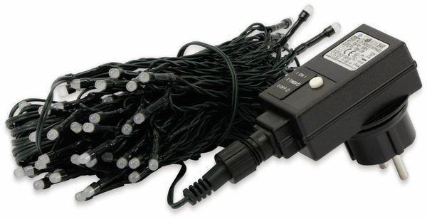 LED-Lichterkette, 80 LEDs, warmweiß, IP44, Timer 6h - Produktbild 2
