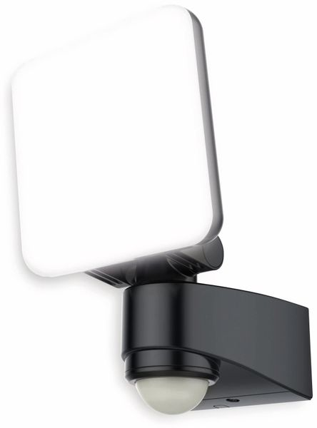 LED-Sicherheitsstrahler mit Bewegungsmelder LUCECO EWLS10B40P, EEK: A+, 10 W, 4000K, 1000 lm, 230 V~