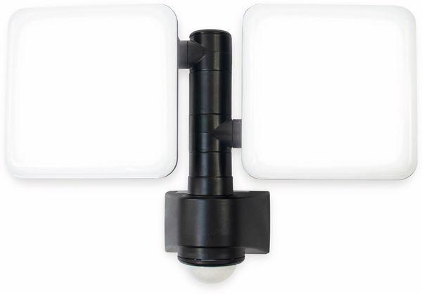 LED-Sicherheitsstrahler mit Bewegungsmelder LUCECO EWLS10B40P, EEK: A+, 20 W, 4000K, 2000 lm, 230 V~ - Produktbild 2
