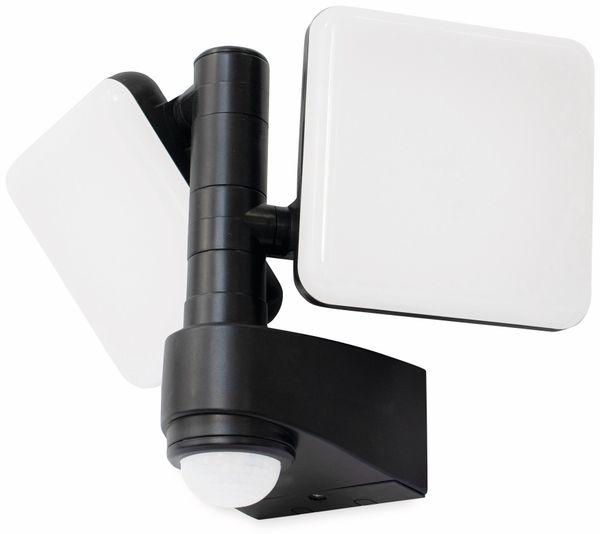 LED-Sicherheitsstrahler mit Bewegungsmelder LUCECO EWLS10B40P, EEK: A+, 20 W, 4000K, 2000 lm, 230 V~ - Produktbild 3