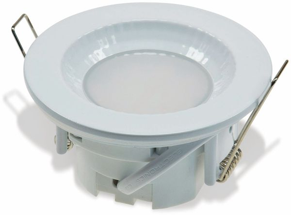 """LED-Einbauleuchte """"Flat-40 FR"""" EEK A+, 5 W, 460 lm, 4000 K, IP 54 weiß"""