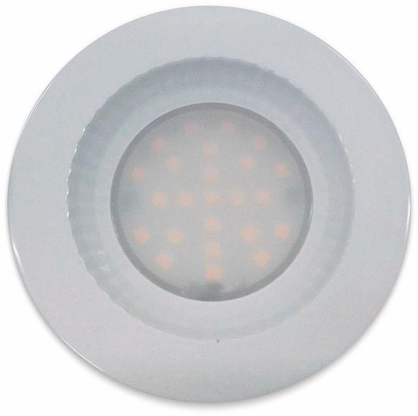 """LED-Einbauleuchte """"Flat-40 FR"""" EEK A+, 5 W, 460 lm, 4000 K, IP 54 weiß - Produktbild 2"""
