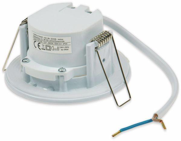 """LED-Einbauleuchte """"Flat-40 FR"""" EEK A+, 5 W, 460 lm, 4000 K, IP 54 weiß - Produktbild 3"""