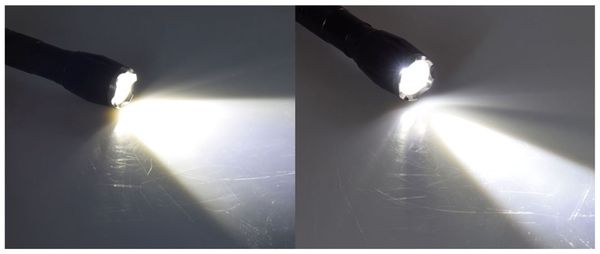 "LED-Taschenlampe ""CTL15 Zoom"", 15 W, 560 lm, CREE LED,195 mm, schwarz - Produktbild 2"