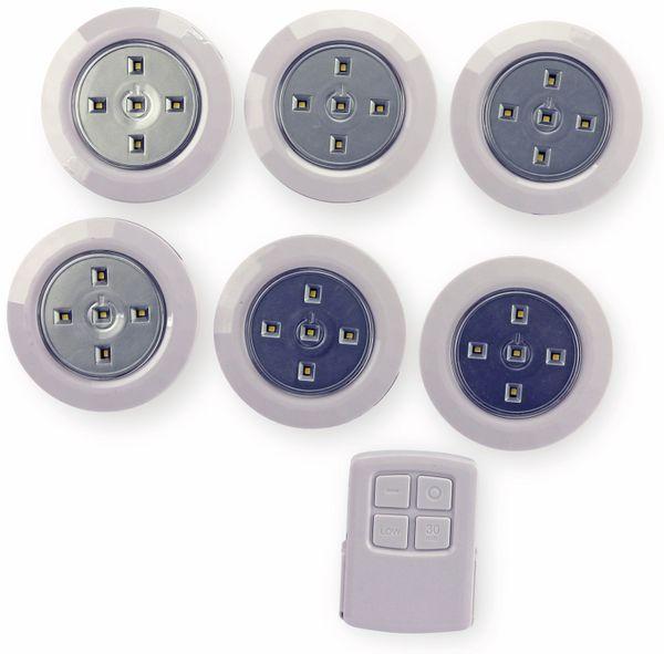 LED-Batterieleuchte, BS1106, 4500K, 6 Stück mit FB - Produktbild 2