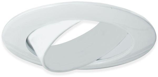 Deckeneinbauleuchte BLULAXA, GU10, 25° schwenkbar, weiß