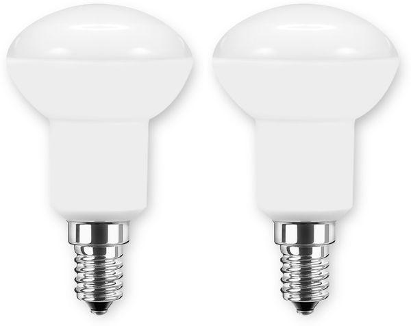LED-Lampe BLULAXA PAR50, E14, 5 W, 470 lm, 2700 K, 2 Stück