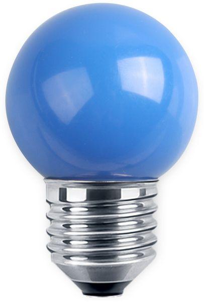 LED-Lampe BLULAXA, E27, 1 W, IP44, blau