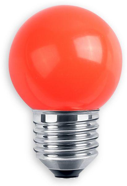LED-Lampe BLULAXA, E27, 1 W, IP44, rot