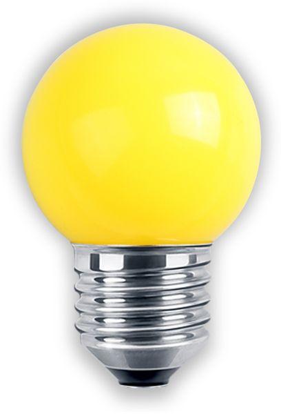LED-Lampe BLULAXA, E27, 1 W, IP44, gelb