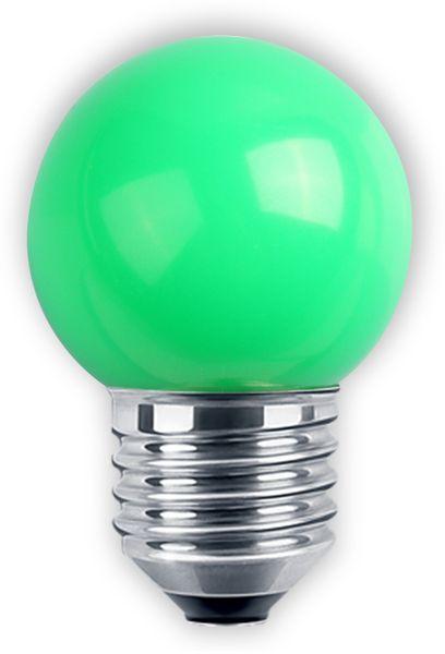 LED-Lampe BLULAXA, E27, 1 W, IP44, grün