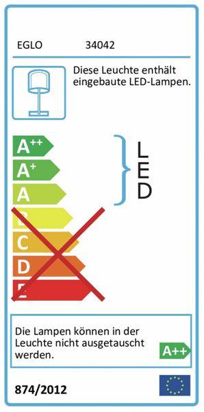 LED-Schreibtischleuchte MASSERIE, EEK: A++, 3,4 W, 470lm, 4000K Wireless Lader,230V~, weiß - Produktbild 2