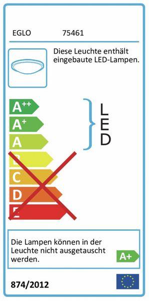 LED-Oval-Armatur PESCOLLA, EEK: A+, 5,5 W, 560 lm, 4000 K, IP65 170 mm, grau - Produktbild 2