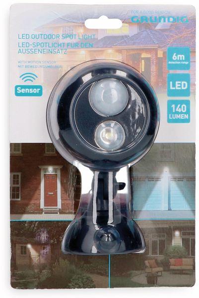 LED-Spotlicht GRUNDIG, 140 lm, mit Bewegungsmelder - Produktbild 2
