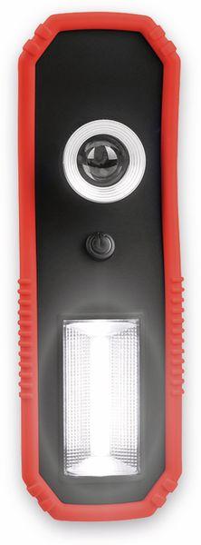 LED-Arbeitsleuchte EUFAB 13450 batteriebetrieben rot/schwarz