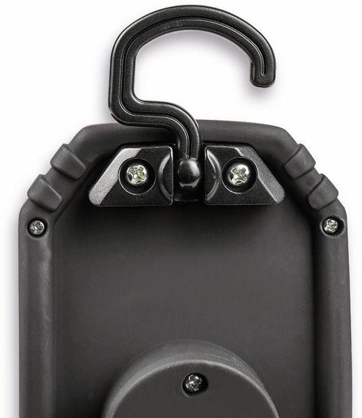 LED-Arbeitsleuchte EUFAB 13450 batteriebetrieben rot/schwarz - Produktbild 7