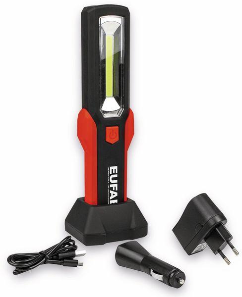 LED-Arbeitsleuchte EUFAB 13490 3,7V, 1800 mA, Tischladestation, rot/schwarz - Produktbild 6