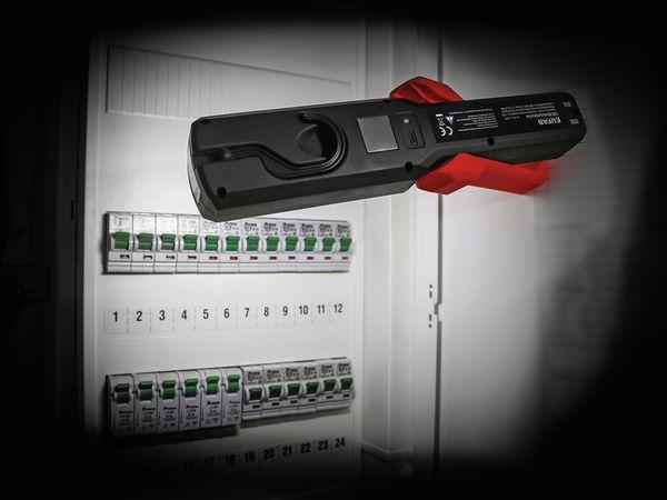 LED-Arbeitsleuchte EUFAB 13490 3,7V, 1800 mA, Tischladestation, rot/schwarz - Produktbild 9