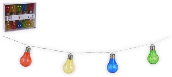 """LED-Party-Lichterkette 10 """"Glühbirnen bunt"""", batteriebetrieben"""