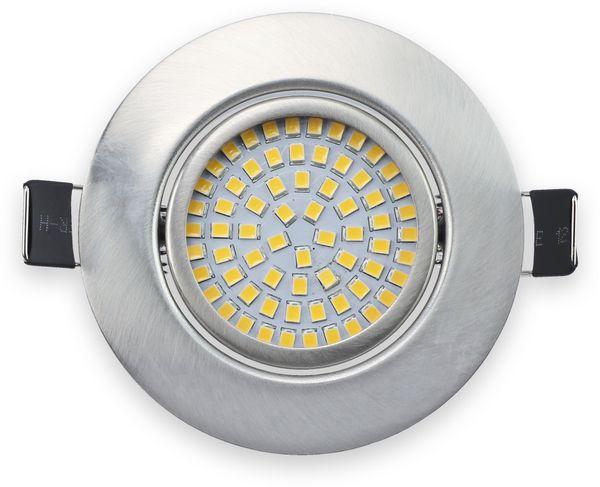 LED-Einbauleuchte DAYLITE EBL-NW, EEK: A+, 4 W, 400 lm, 4000 K, Nickel satiniert