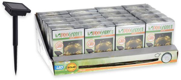 Solar-Lichterkette, 100 LEDs, warmweiß, 12 m - Produktbild 2
