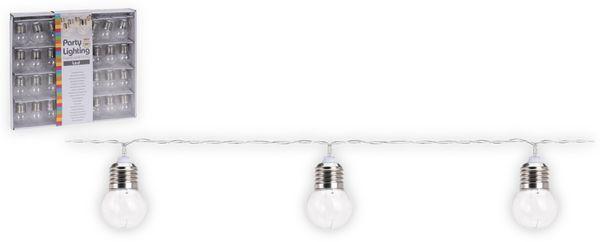 """LED-Party-Lichterkette 30 """"Glühbirnen klar"""", batteriebetrieben"""
