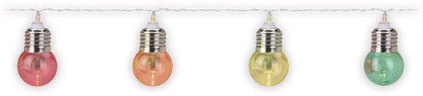 LED-Lichterkette, 30 Lampen, bunt, Batteriebetrieben
