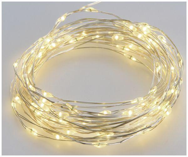Solar-Lichterkette, 100 LEDs, warmweiß, 7 m - Produktbild 3