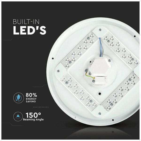 LED-Deckenleuchte VT-8412(7603), EEK: A, 12 W, 720 lm, 3000…6400 K, weiß - Produktbild 3