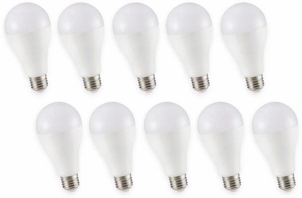 LED-Lampe V-TAC VT 215 (159), E27, EEK: A+, 15 W, 1200 lm, 3000 K, 10 Stück