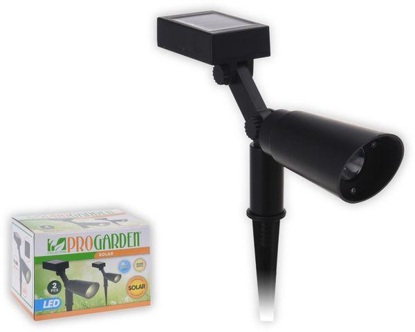 2er Set LED-Solarleuchten, 1,2 V, AA 300 mAh,