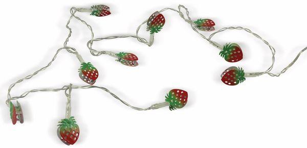 LED-Tischdekoration, Erdbeere, Bastelware