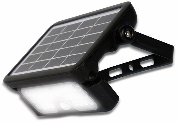 LED-Solar-Außenleuchte LUCECO, 5 W, 550 lm, 4000 K, schwarz - Produktbild 2