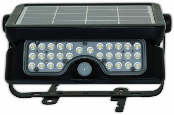 LED-Solar-Außenleuchte LUCECO, 5 W, 550 lm, 4000 K, schwarz - Produktbild 4