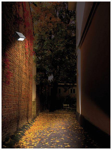 LED-Solar-Außenleuchte LUCECO, 5 W, 550 lm, 4000 K, schwarz - Produktbild 6