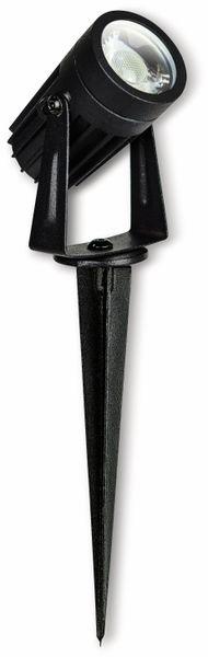 LED-Gartenleuchte LUCECO, 3 W, 200 ml, 4000 K, schwarz