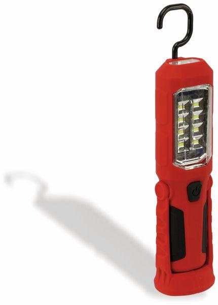 LED-Arbeitsleuchte, L006D, 0,5 W, rot/schwarz, Li-Ion Akku - Produktbild 3