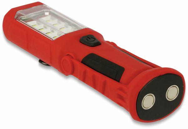 LED-Arbeitsleuchte, L006D, 0,5 W, rot/schwarz, Li-Ion Akku - Produktbild 6