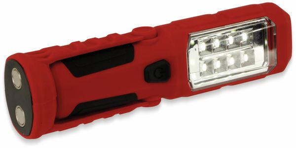 LED-Arbeitsleuchte, L006D, 0,5 W, rot/schwarz, Li-Ion Akku - Produktbild 7
