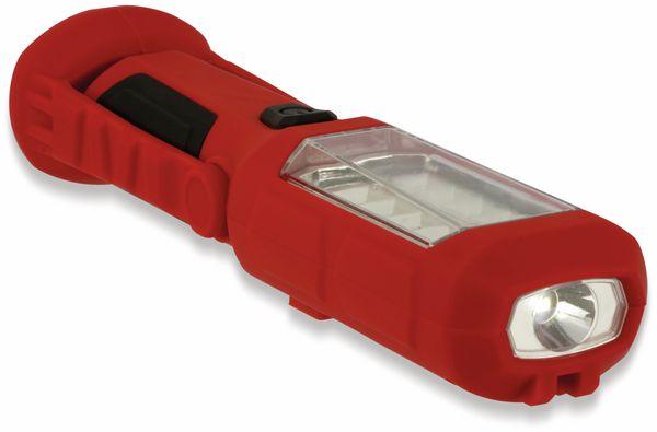 LED-Arbeitsleuchte, L006D, 0,5 W, rot/schwarz, Li-Ion Akku - Produktbild 8