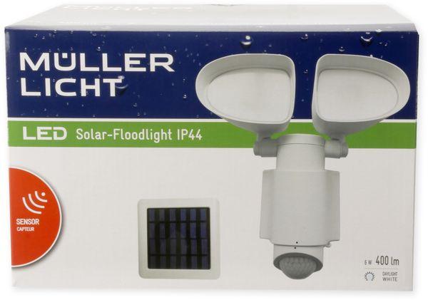 Solar LED-Fluter MÜLLER LICHT, mit Bewegungsmelder, 6 W, 400 lm, 6500 K, weiß - Produktbild 2