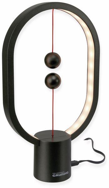 LED Balance Lampe GRUNDIG, 5 V-, 4W, USB-C, 250 mm, schwarz