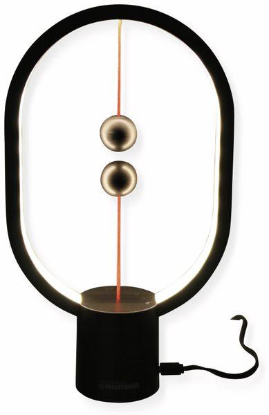 LED Balance Lampe GRUNDIG, 5 V-, 4W, USB-C, 250 mm, schwarz - Produktbild 2